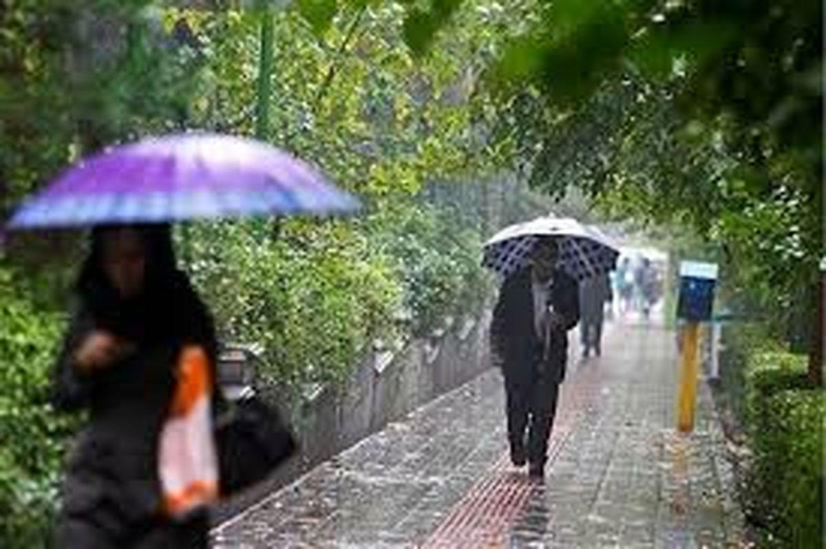 هوای کشور بارانی می شود