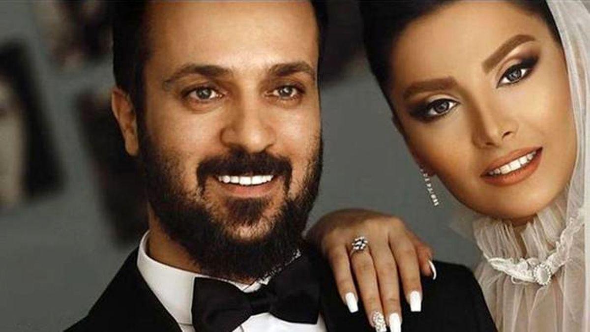 عکس لورفته از حلقه ازدواج گران قیمت بازیگران + تصاویر