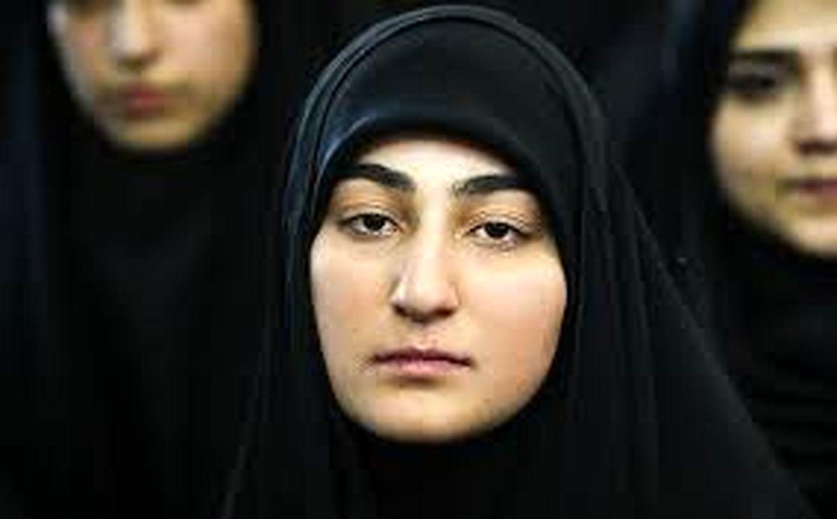 عکس زینب سلیمانی در کنار همسر روحانیش + عکس