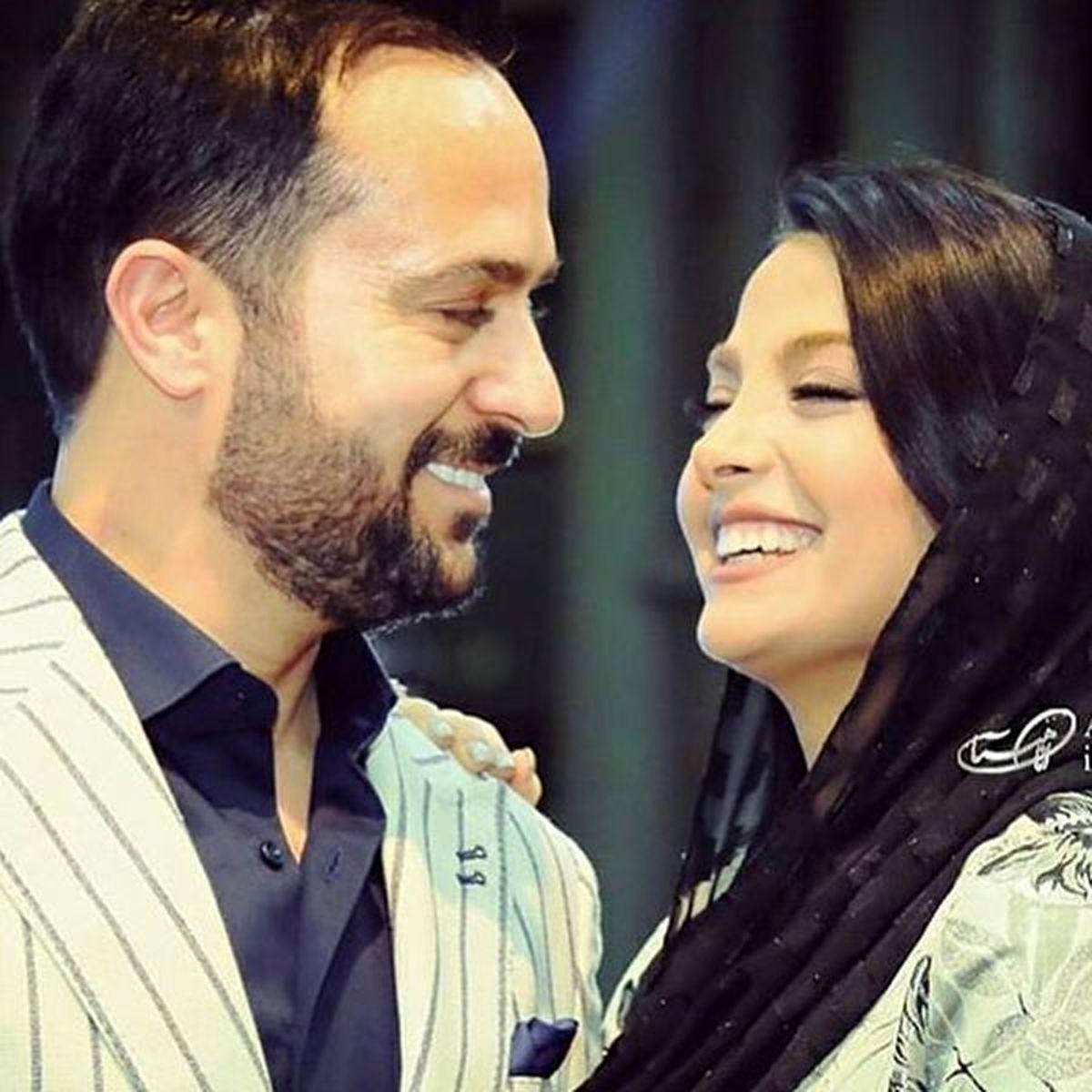عکس لورفته از احمد مهرانفر بازیگر پایتخت در کنار همسر مدلش + تصاویر