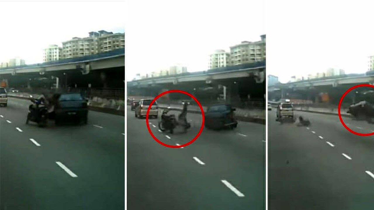 مرگ وحشتناک عابرپیاده در بزرگراه تهران-کرج + جزئیات
