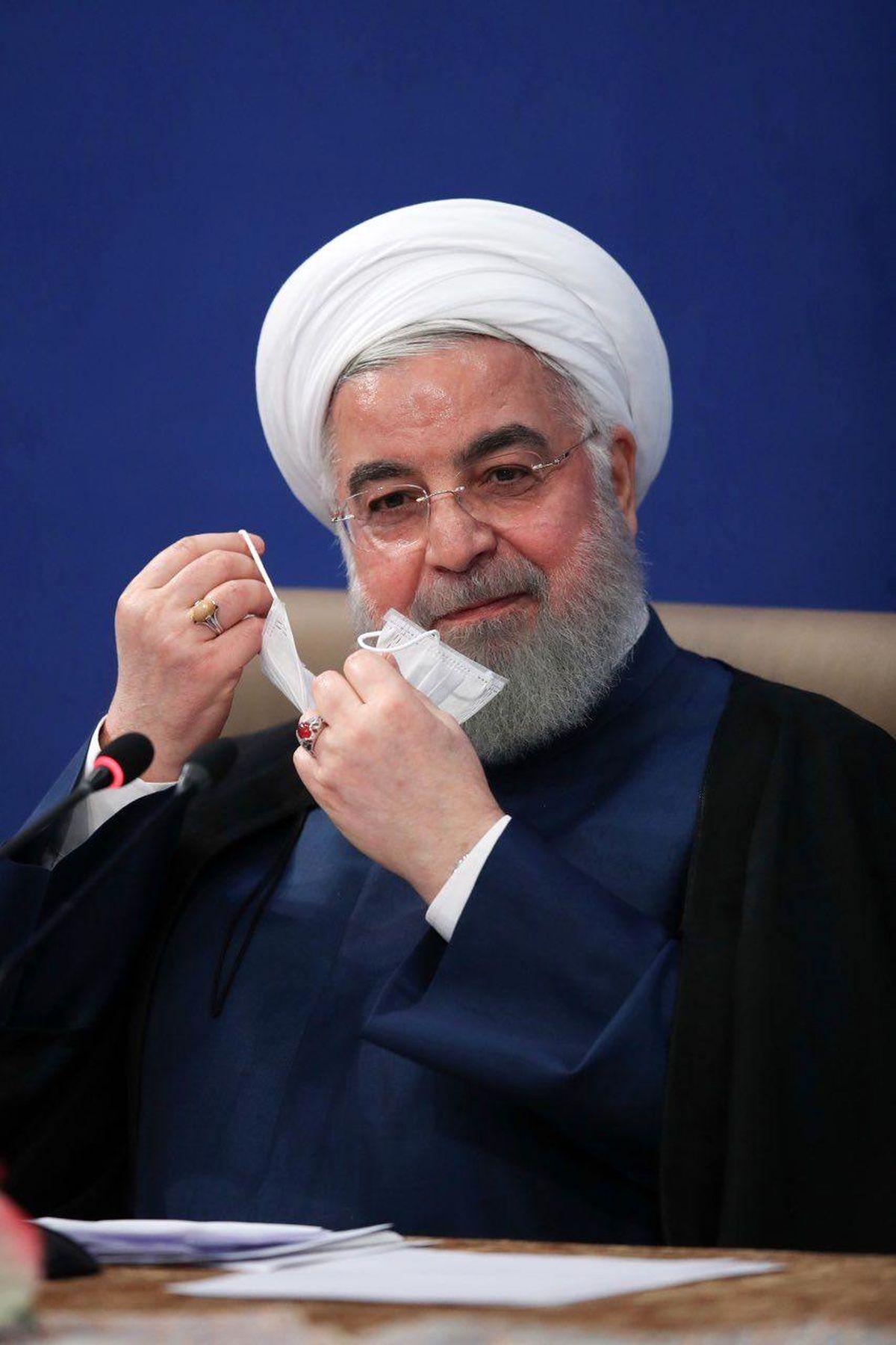حسن روحانی نسبت به فوت انصاریان و میناوند واکنش نشان داد+فیلم