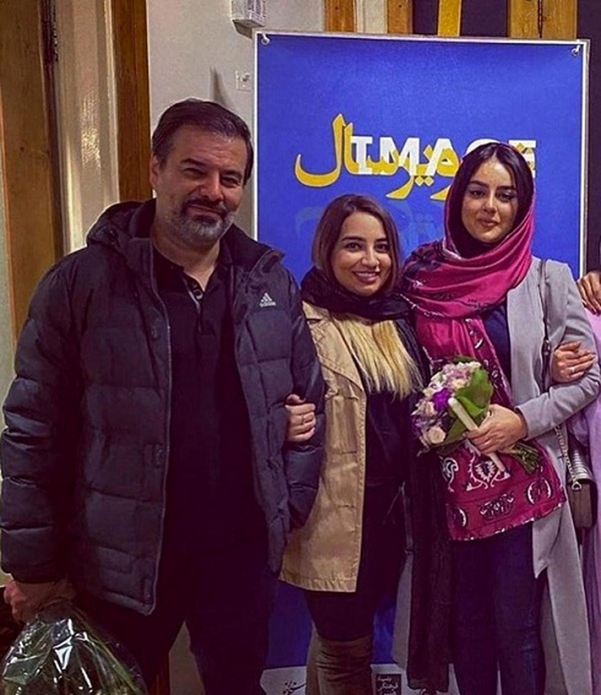پیمان قاسم خانی برای بار دوم ازدواج کرد + عکس عروسی