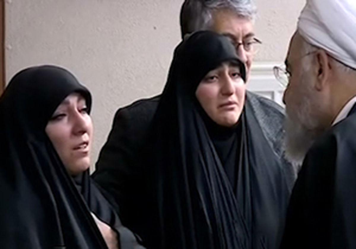 عکس دختران سردار سلیمانی در کنار هم + تصاویر