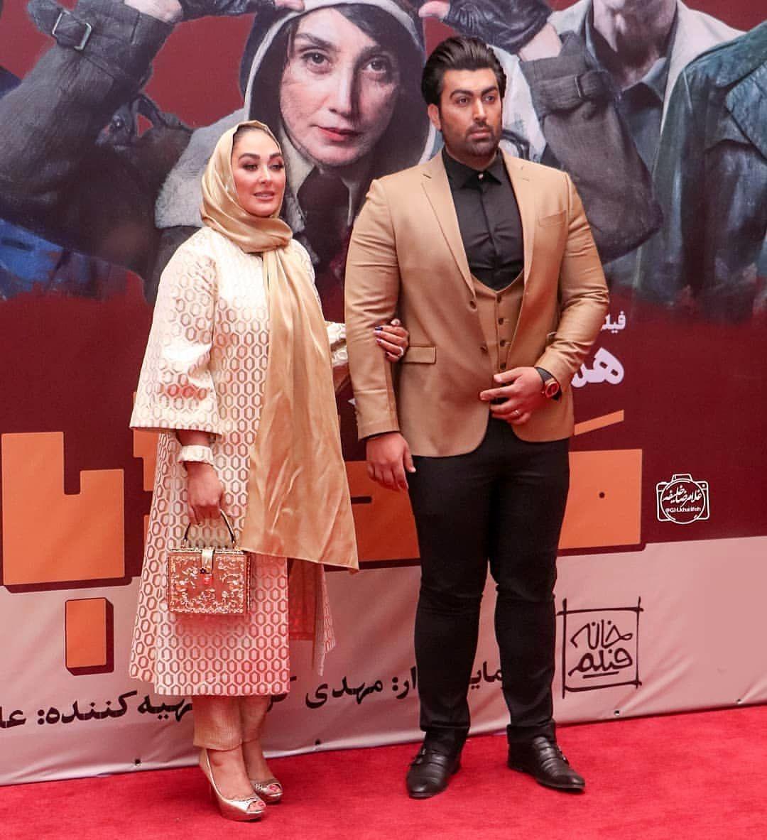همسر الهام حمیدی علیرضا صادقی