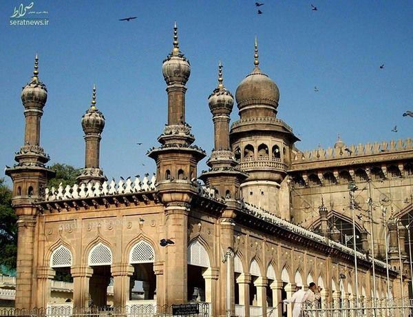 مسجدی که نامش مکه است!+ عکس