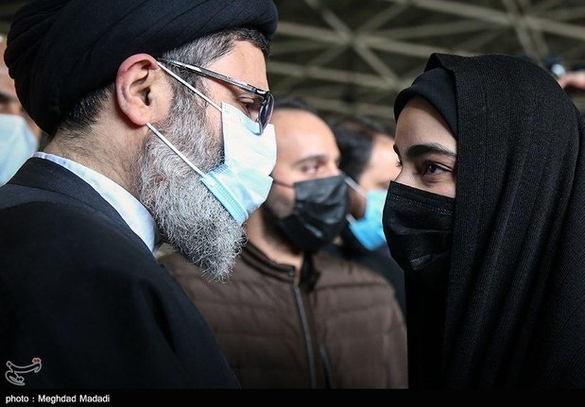 عکس زینب سلیمانی در کنار همسرش + عکس